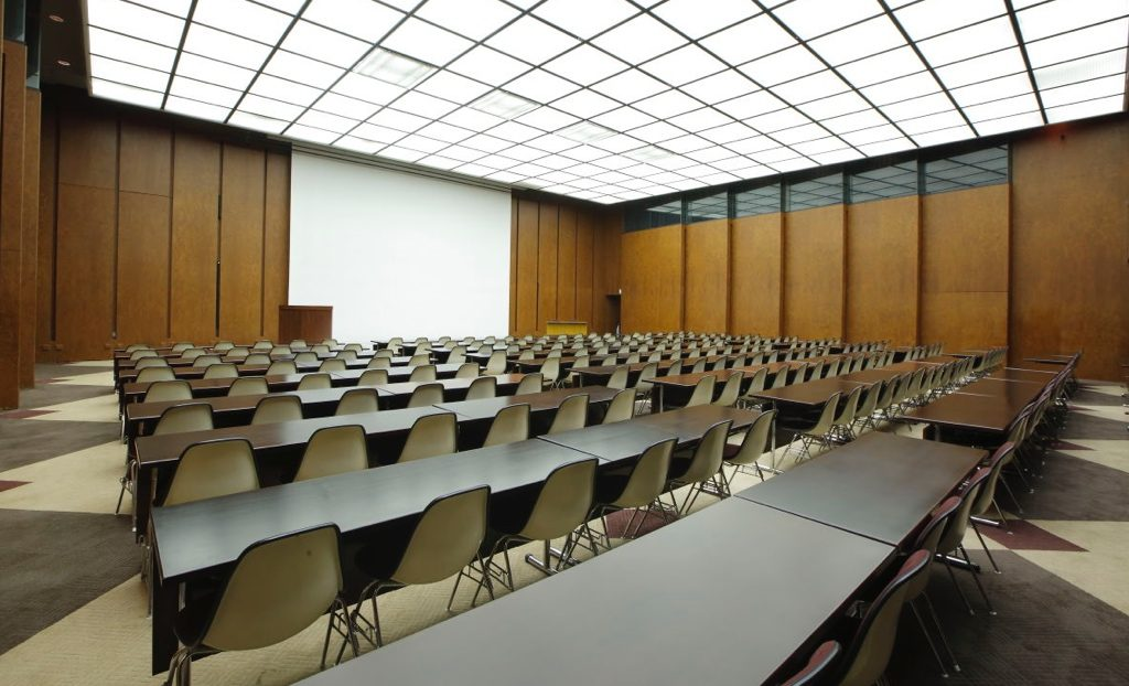The International Conference Room Is Available For Various Conferences,  Lecture Meetings, Corporate Training Sessions, And Many Other Purposes.